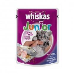 Whiskas Cat Wet Food Mackerel for Junior 85g