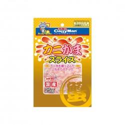CattyMan Cat Treat Crab Slices 25g