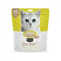 Kit Cat Purr Puree Cat Treat Chicken & Fiber 600g