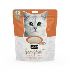 Kit Cat Purr Puree Cat Treat Chicken & Salmon 600g