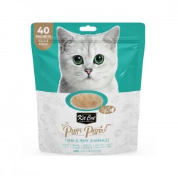 Kit Cat Purr Puree Cat Treat Tuna & Fiber 600g