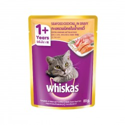 Whiskas Cat Wet Food Seafood Cocktail 85g