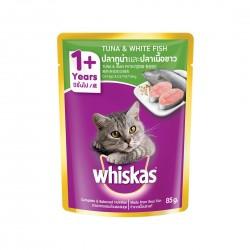 Whiskas Cat Wet Food Tuna & Whitefish 85g