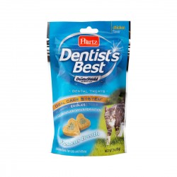 Hartz Dentist's Best Cat Treat Dental Shield 85g
