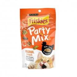 Purina Friskies Cat Treat Party Mix Original Crunch 60g