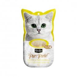 Kit Cat Purr Puree Cat Treat Chicken & Fiber 15g
