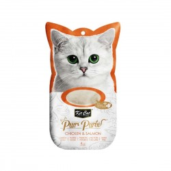 Kit Cat Purr Puree Cat Treat Chicken & Salmon 15g