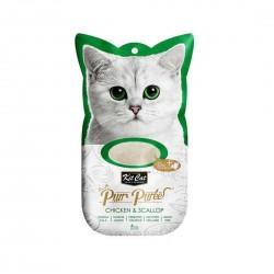 Kit Cat Purr Puree Cat Treat Chicken & Scallop 15g