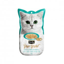 Kit Cat Purr Puree Cat Treat Tuna & Fiber 15g