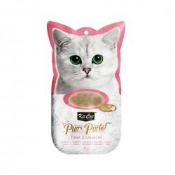 Kit Cat Purr Puree Cat Treat Tuna & Salmon 15g