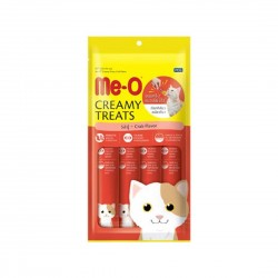 Me-O Cat Treat Creamy Crab Flavour 15g