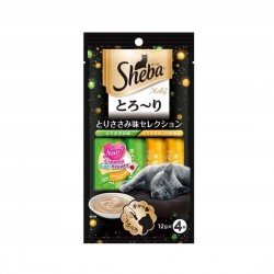Sheba Cat Treat Melty Chicken & Whitefish Flavour 12g (4pcs)