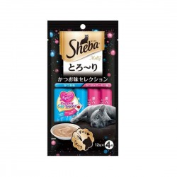 Sheba Cat Treat Melty Katsuo & Salmon Flavour 12g