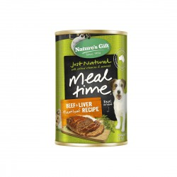 *Animal Lovers League* Nature's Gift Dog Canned Food Beef & Liver Meatloaf 700g (12 cans)