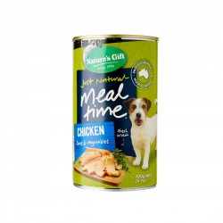Nature's Gift Dog Canned Food Chicken, Oats & Vegetables 700g