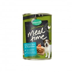 Nature's Gift Dog Canned Food Chicken, Rice & Vegetables 700g