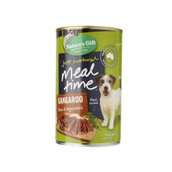 Nature's Gift Dog Canned Food Kangaroo, Rice & Vegetables 700g