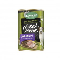 *Animal Lovers League* Nature's Gift Dog Canned Food Lamb with Pasta & Vegetables 700g (12 cans)