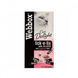Webbox Lick e Lix Cat Treat with Salmon 15g