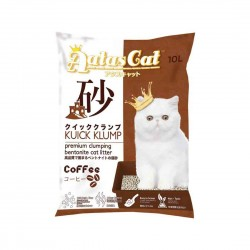 Aatas Cat Bentonite Cat Litter Kuick Klump Coffee 10L