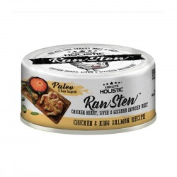 Absolute Holistic Pet Food Raw Stew Chicken & King Salmon 80g