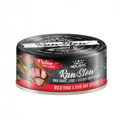 Absolute Holistic Pet Food Raw Stew Tuna & Fish Roe 80g