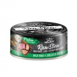 Absolute Holistic Pet Food Raw Stew Tuna & Shellfish 80g