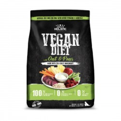 Absolute Holistic Dog Food Grain Free Vegan Diet Oat & Peas 1.5kg