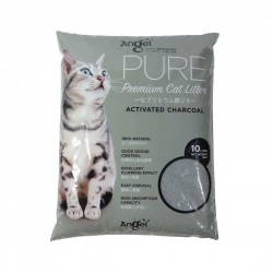 Angel Pure Premium Cat Litter Charcoal 10L
