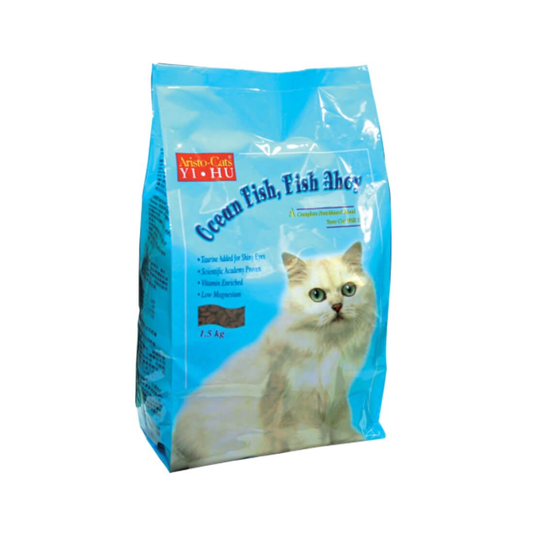 Aristo Cats Yi Hu Cat Dry Food Ocean Fish Fish Ahoy 1 5 Kg