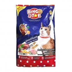 Bingo Star Cat Food Original 20kg