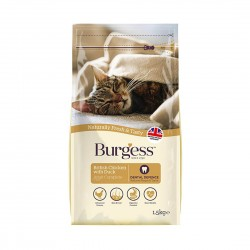 Burgess Cat Food British Chicken with Duck for Adult Cat 1.5kg