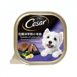 Cesar Dog Wet Food Lamb with Rosemary & Broccoli 100g