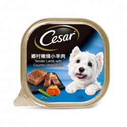 Cesar Dog Wet Food Tender Lamb with Country Vegetables 100g