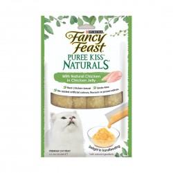 Fancy Feast Puree Kiss Naturals Chicken in Chicken Jelly 10g (4pcs)