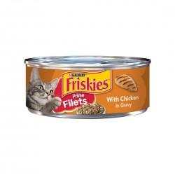 Friskies Cat Canned Food Chicken Fillet in Gravy 156g