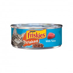 Friskies Cat Canned Food Flaked with Tuna 156g