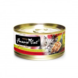 Fussie Cat Canned Food Premium Tuna with Ocean Fish in Aspic 80g