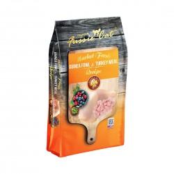Fussie Cat Dry Food Market Fresh Grain Free Guinea Fowl & Turkey 0.9kg