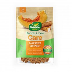 Happi Doggy Dental Chew Care Digestive Support Petite 150g