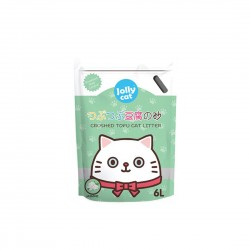 Jolly Cat Litter Crushed Tofu Jasmine 6L
