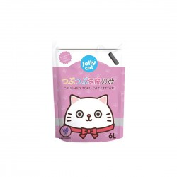 Jolly Cat Litter Crushed Tofu Lavender 6L