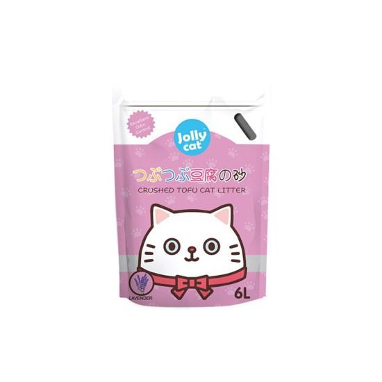 Jolly Cat Litter Crushed Tofu Lavender 6L