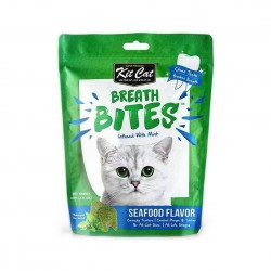 Kit Cat Breath Bites Cat Treat Seafood 60g