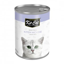 Kit Cat Canned Food Mousse Tuna for Kitten 400g