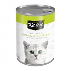 Kit Cat Canned Food Tuna & Katsuobushi 400g
