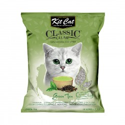 Kit Cat Classic Clump Cat Litter Green Tea 10L