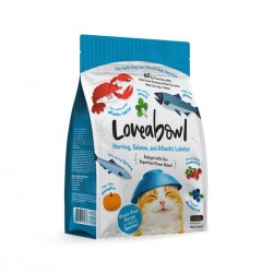 Loveabowl Cat Food Herring, Salmon and Atlantic Lobster 150g