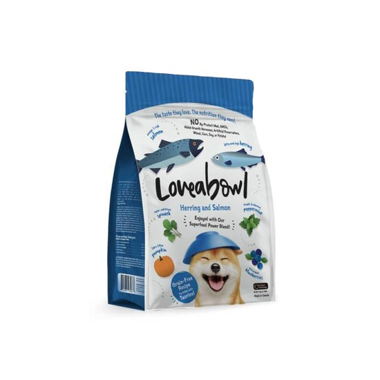 Loveabowl Dog Food Herring and Salmon 250g