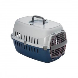 Moderna Road Runner Cat Carrier Travel Crate Blue
